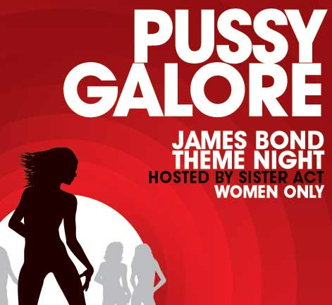 pussy galore poster